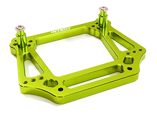 Plastic Shock Tower (Integy RC Model Hop-ups OBM-3639GREEN Alloy Front Shock Tower for Traxxas 1/10 Slash 2WD/Stampede 2WD/Bandit/Rustler)