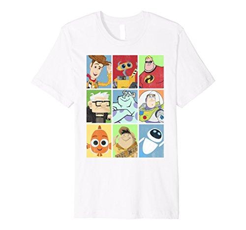 Disney Pixar Movie Characters Stack Up Boxes Premium T-Shirt