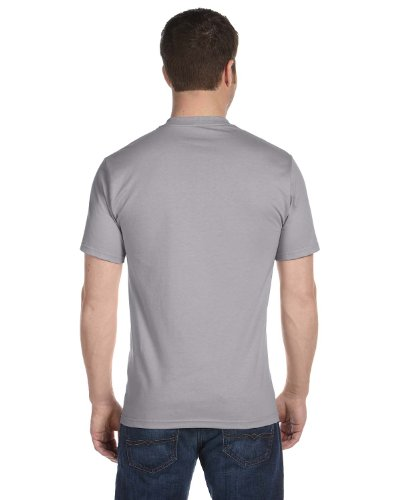 Hanes Men's Short Sleeve Beefy T-Shirt (Oxford Gray, XX-Large) - Oxford Gray T-shirt