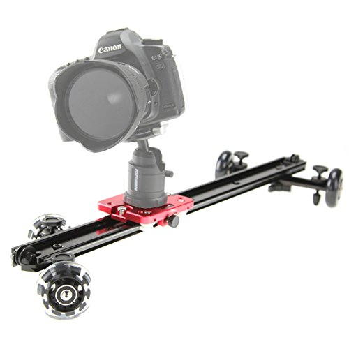 "KAMERAR SD-1 Mark II 23"" DSLR CAMERA SLIDER DOLLY TRACK VIDEO STABILIZER SYSTEM WITH WHEEL"