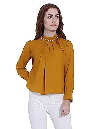 Istyle Can Women's Crepe Top
