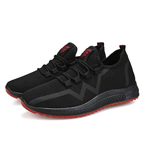 Acquista online LLZGPZYDX Scarpe Estive Uomini Sneakers Mesh Traspirante Uomini Casual Scarpe Comode Morbide Scarpe Piatte Maschili Lace Up Sneakers di Moda miglior prezzo offerta