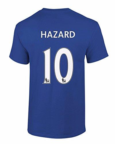 Amazon.com  Tcamp Chelsea Shirt Eden Hazard  10 Jersey Men T-shirt  Clothing 915ef8b64eede