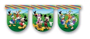 3m Guirnalda Mickey Mouse y fiesta infantil Amigos Popular ...