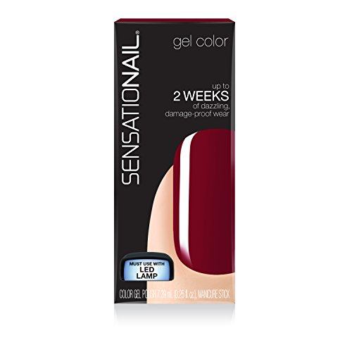 SensatioNail Gel Polish, Miss Behave, 0.25 Fluid Ounce