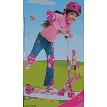 Barbie Folding Scooter with Bonus Scooter for Barbie