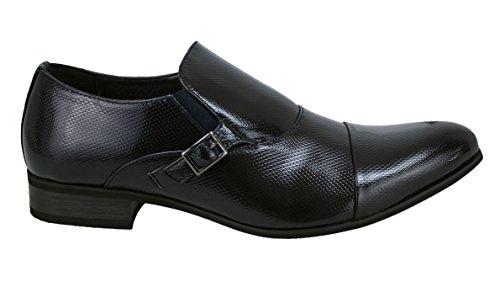 nuove class cerimonia vernice lucido nero da uomo eleganti Scarpe Uxq4Yx