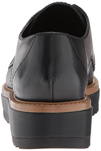 Leather Leather Black Sneaker Vada West Nine Women's qF411R