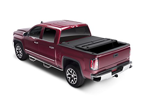 Extang 62645 Encore Hard Folding Tonneau Cover - fits Silverado/Sierra (5 ft 8 in) 07-13 without track system, no bed rail caps (Extang Encore Tonneau Cover)