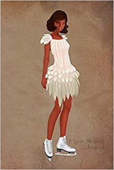 Figure Skating Journal: White Feather Costume Vintage Style Fashion Illustration Soft Cover Journal, Diary, Notebook With Lined Pages Descargar ebooks Epub
