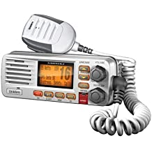 Uniden UM380 Fixed Mount Class D VHF Marine Radio - White