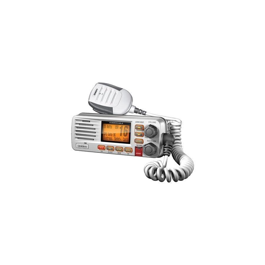 Uniden Class D Full Feature Fixed Mount VHF Marine Radio White (UM380)