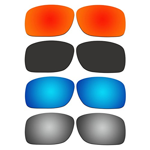 Cheap ACOMPATIBLE 4 Pair Replacement Polarized Lenses for Oakley Turbine XS (Youth Fit) Sunglasses OJ9003 Pack P1