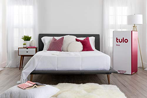 tulo Firm Foam Mattress, Queen Size, for Great Sleep and Optimal Total Body Support