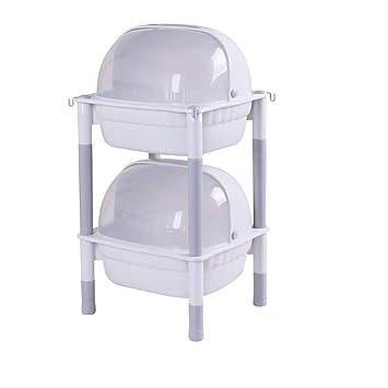 Transparente Kunststoff Staubdicht Flip Lagerung Rcak Küche Regale ...