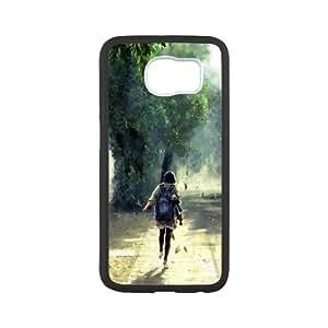 Samsung Galaxy S6 Cell Phone Case Black Late To School VIU179817
