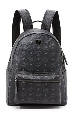 MCM Men's Stark Medium Backpack, Black, One Size