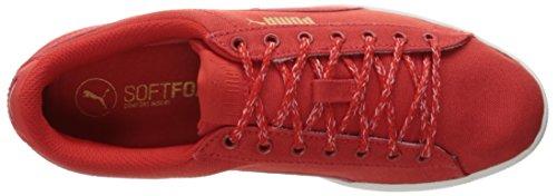 PUMA Frauen Vikky Spice Fashion Sneaker Hohes Risiko Rot-hoch R