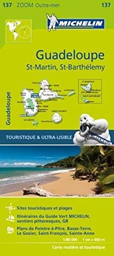 Michelin Guadeloupe Map 137 (Michelin Map) by Michelin Travel & Lifestyle (2016 02 07)