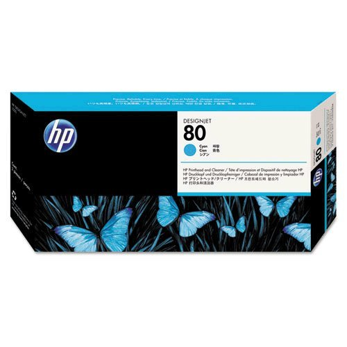 HEWC4821A - HP 80 Cyan Printhead/Cleaner