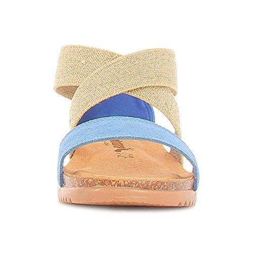 Bionatura , Damen Sneaker blau blau