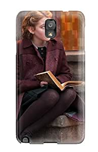 Hard Plastic Galaxy Note 3 Case Back Cover,hot Sophie Nelisse In The Book Thief Case At Perfect Diy