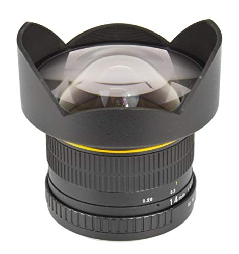 Lente Ojo de Pez Bower SLY1428S Ultra Gran Angular 14mm f / 2.8 para Sony