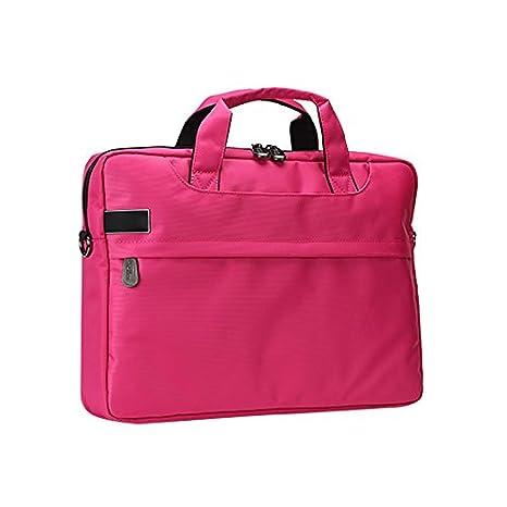 Jia Hu 1pieza multifuncional portátil maletín cartera bolso bandolera Tablet de ordenador Colegio Business: Amazon.es: Oficina y papelería