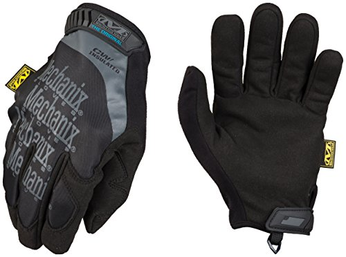 Mechanix Wear - Original Insulated Winter Gloves (Large, Black)
