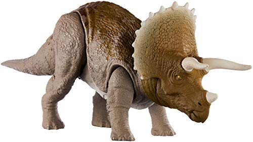 Jurassic World Sound Strike Dinosaur Action Figure, Triceratops