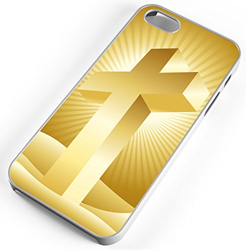 iPhone 8 Plus 8+ Case Cross Heaven Jesus God Spiritual Faith Belief Church Brethren Customizable TYD Designs in White Rubber -