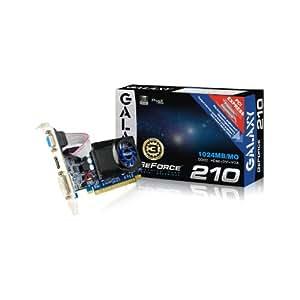 Galaxy GeForce 210 1GB GDDR2 PCI Express 2.0 DVI/HDMI/VGA Graphics Card, Graphics Cards 21GGE8HX3BMX
