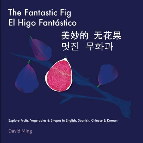 The Fantastic Fig: Explore Fruits, Vegetables, and Shapes in English, Spanish, Chinese & Korean (English, Spanish, Chinese, Korean Multilingual Edition) (Esl In China)