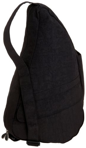 AmeriBag Classic Distressed Nylon Healthy Back Bag tote Medium 6104,Black,one (Ameribag Healthy Back Bag)