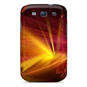 For Galaxy S3 Protector Case Digital Galaxy Phone Cover