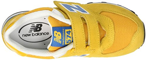 New Balance Nbkg574ynp - Zapatos Hombre Yellow/Blue Suede/Mesh
