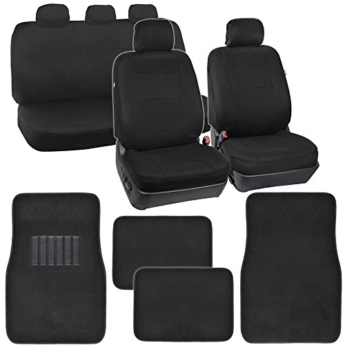 cute car seat covers floor mats - 3