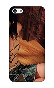 Graceyou Case Cover Protector Specially Made For ipod touch4 Anna Faris Wallpapaer