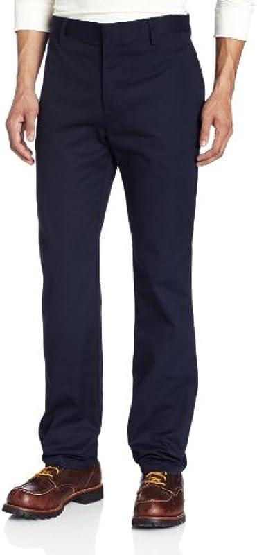 Lee Uniforms Męskie-Hose mit schmalem, geraden Kern - Blau - 29W / 32L: Odzież