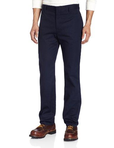 Lee Uniforms Men's Slim Straight Core Pant, Navy, 32Wx30L