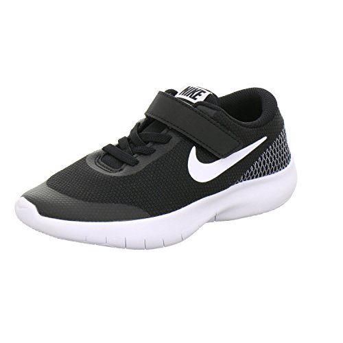 - Nike Boy's Flex Experience RN 7 (PSV) Running Shoes (13 M US Little Kid, Black/White/White)
