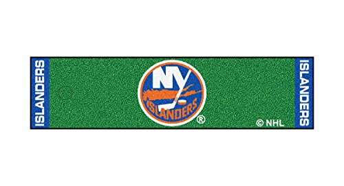 Fanmats Home Indoor sports Team Logo New York Islanders Putting Green Runner Mat 18