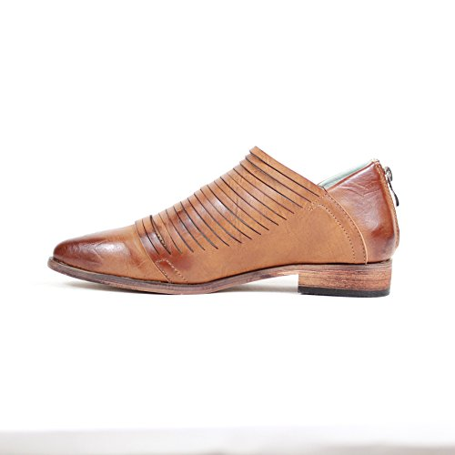 Dress Carving Oxford Heel Low Shoes Arider Fashion Alana Classic Whisky Womens PFSxpq0
