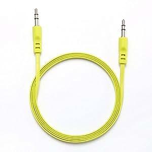 We wejkplat150ve Cable Jack macho/macho plana 1,50m verde