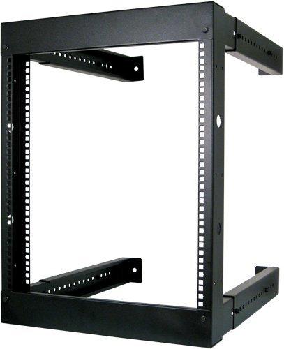 9U Open Wall Mount Frame Rack - Adjustable Depth 18