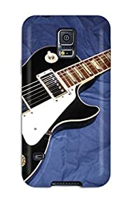 New Design Shatterproof WmEYSmq6014JWllN Case For Galaxy S5 (guitar)