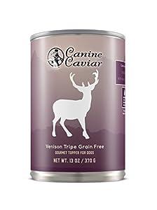 Canine Caviar 96-Percent Venison Tripe, 12.8 oz cans (12 in a case) from Canine Caviar Pet Foods Inc.