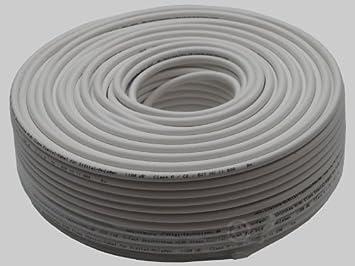 100 m de cable coaxial VIALUNA CCD110 ClassA: Amazon.es: Electrónica