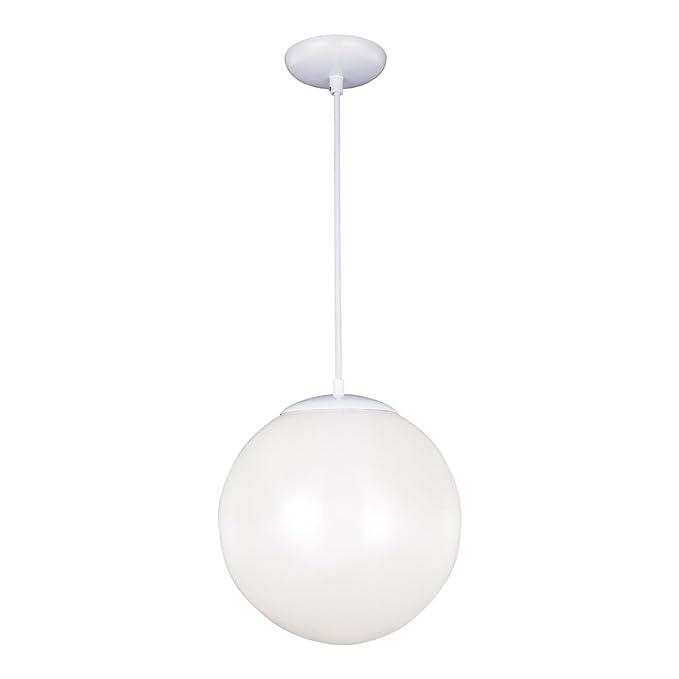 Amazon.com: Sea Gull Lighting 6024 Hanging Globe 1 Lámpara ...