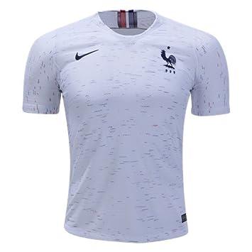 buy popular db7f8 9285b 2018 FIFA World Cup of Soccer Team France Away Replica White ...